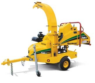 7″ 25 hp Chipper