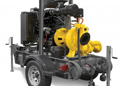 6″ Towable Trash Pump